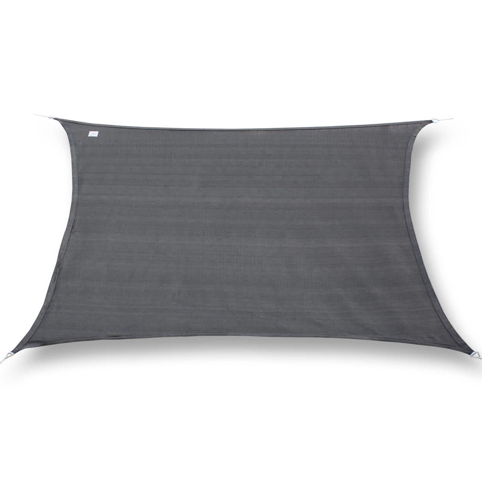 hanSe® Schaduwdoek Rechthoek Waterdicht 2x3 m - zonnedoek - Grijs