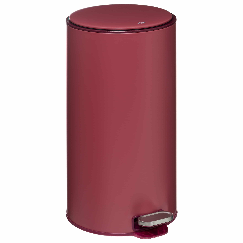 4Goodz Pedaalemmer Rond 30 liter met uitneembare binnenbak - Rood