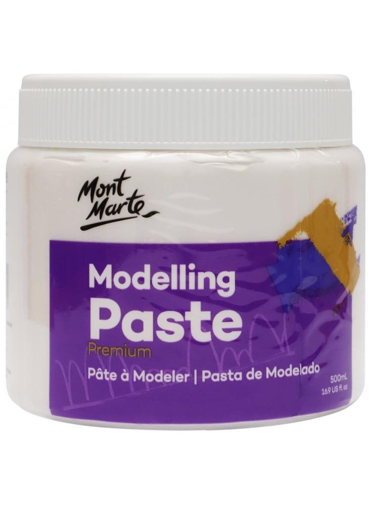 Mont Marte® Premium Modelling Paste 500 ml - Modelleer pasta schilderen