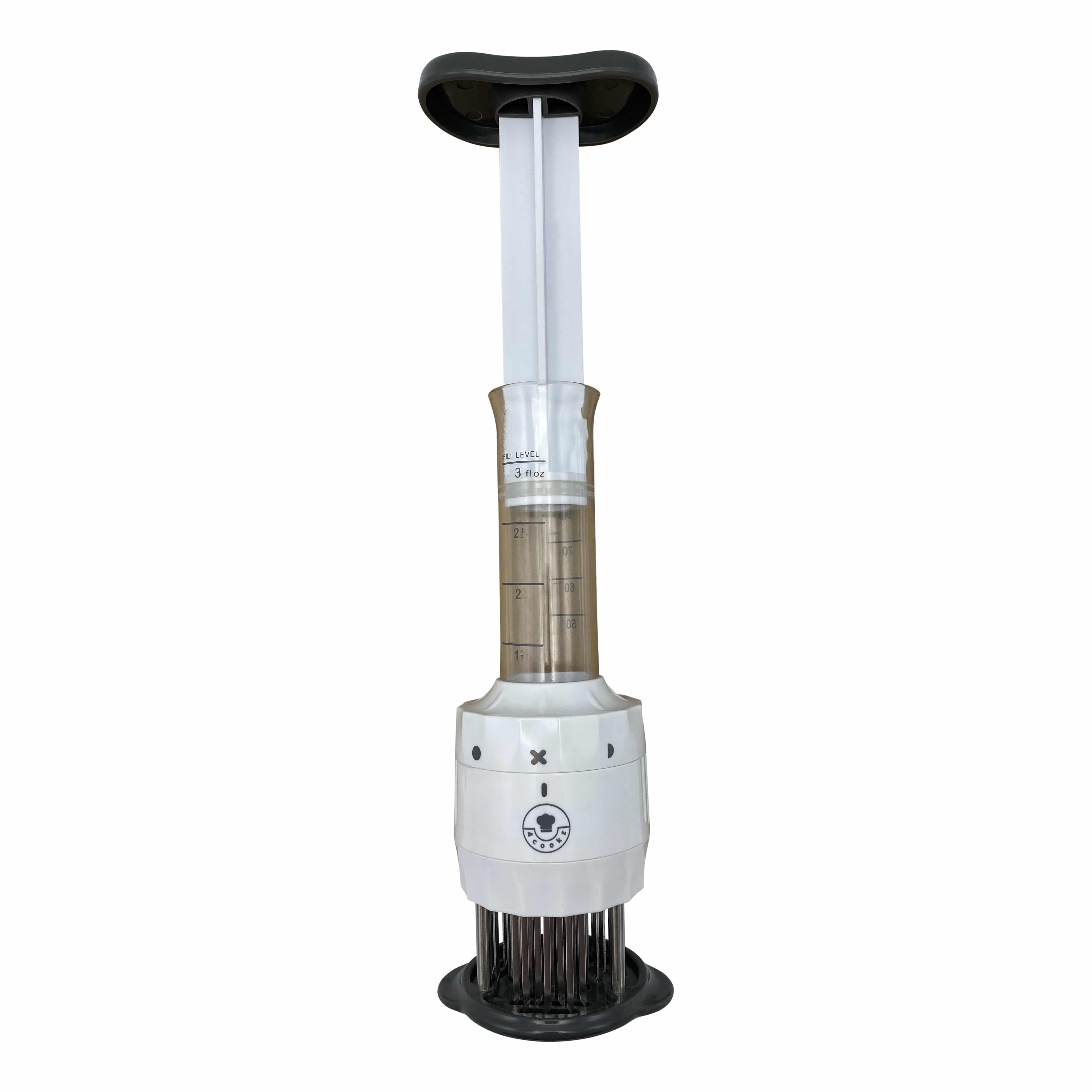 4cookz® Marinadeinjector 2-in-1 tenderizer met marinade injector