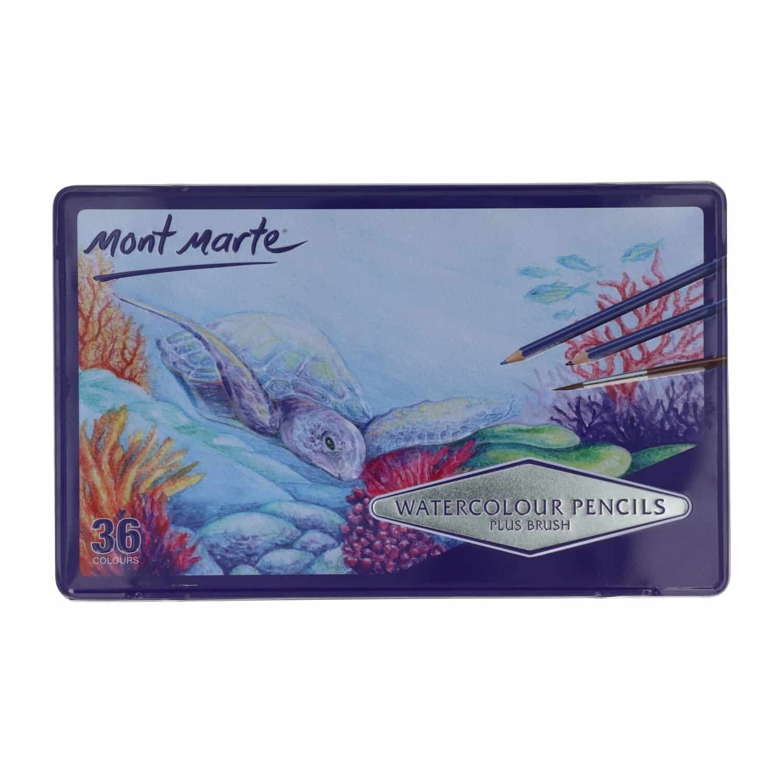 Mont Marte® Aquarel potloden / watercolour potloden 36 stuks