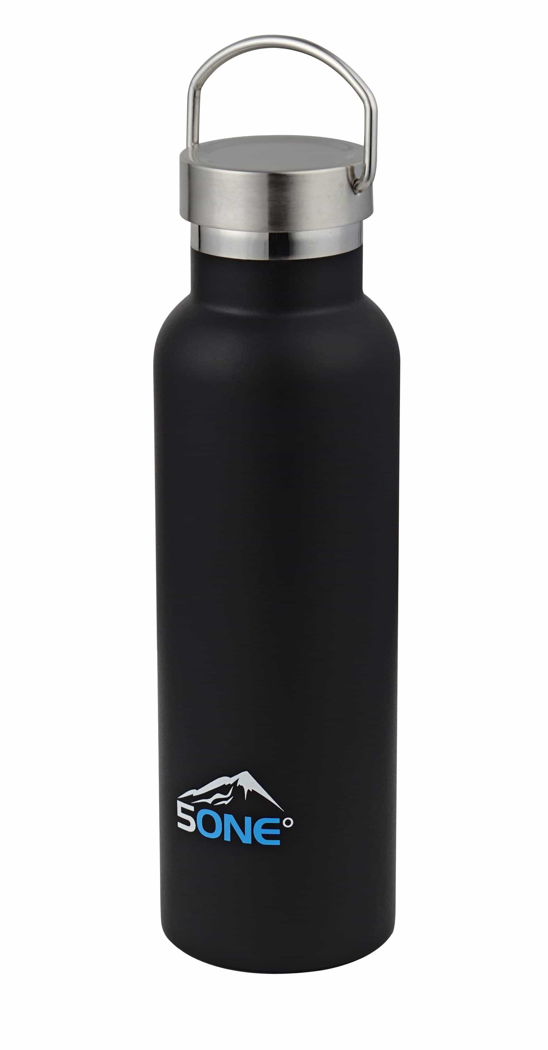 5one® dubbelwandige koelfles thermosfles 600ml