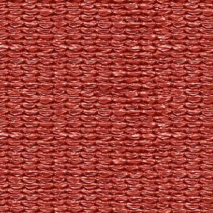 hanSe® Schaduwdoek Rechthoek Waterdoorlatend 4x6 m - zonnedoek - Terra