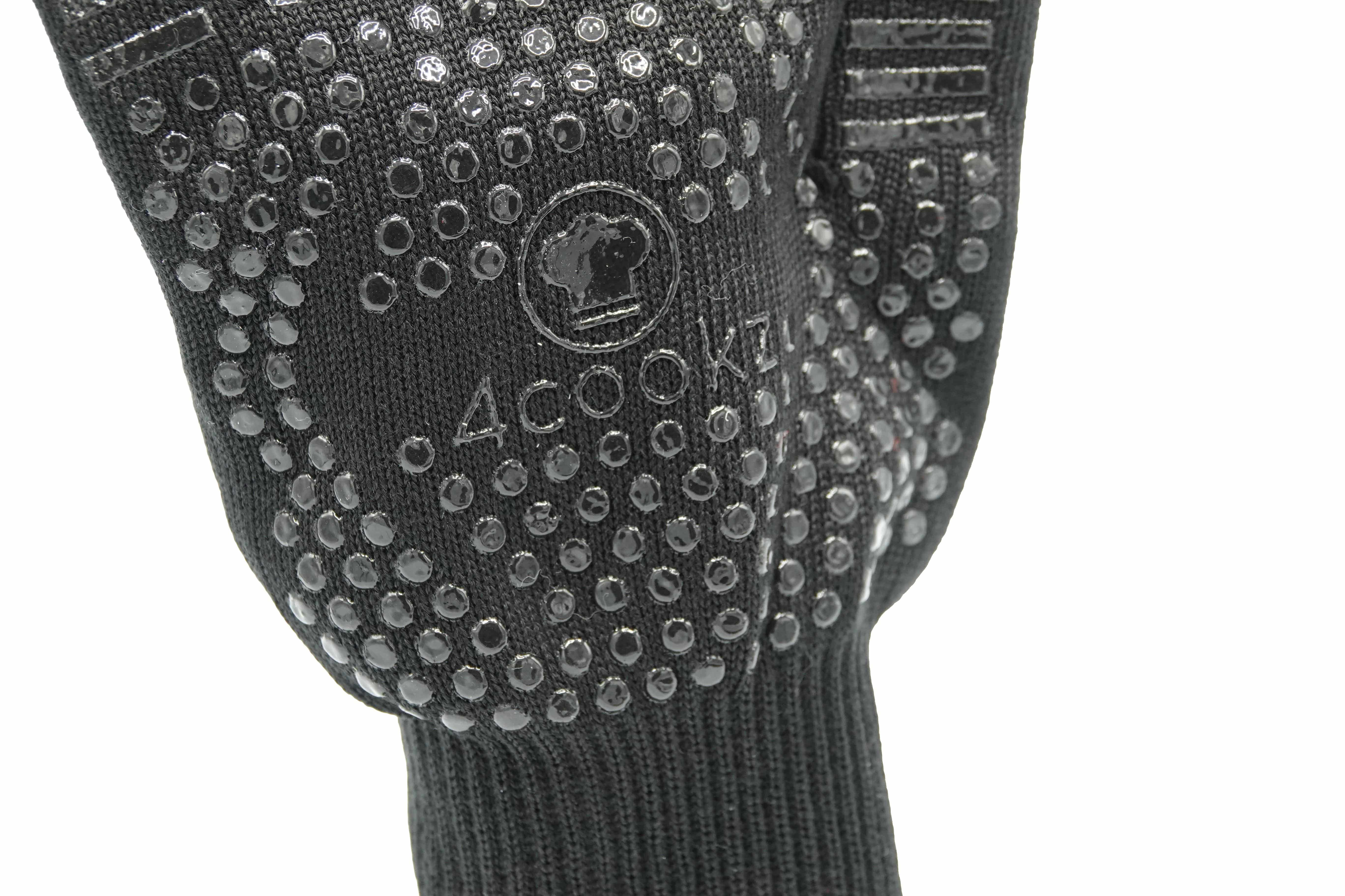 4cookz® 1 paar XL brandwerende BBQ handschoen - Nomex 500⁰C