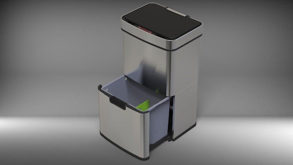 4cookz® 40 liter binnenbak smart waste 72 liter