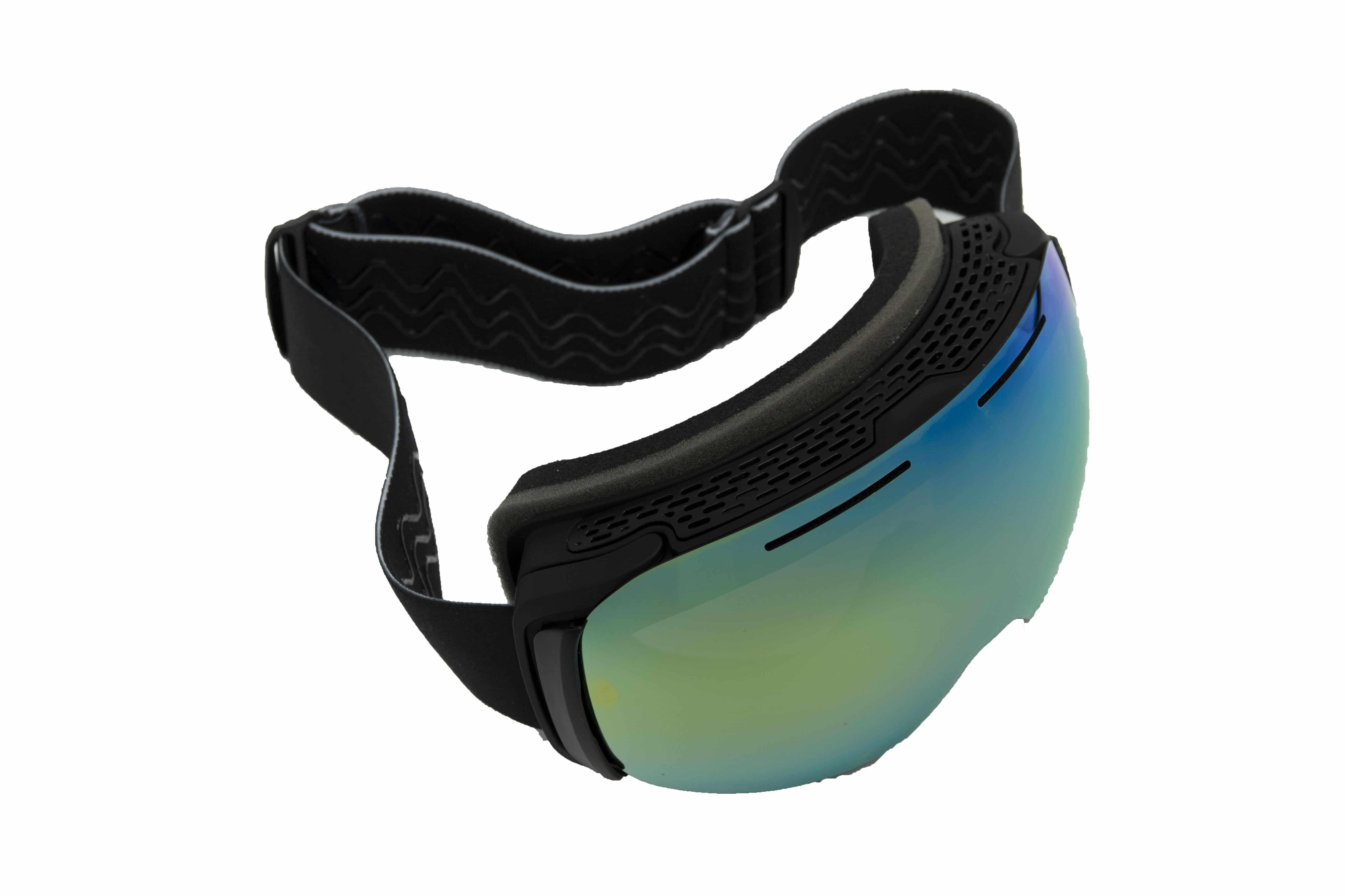 5one® Alpine 7 - skibril - 2 verwisselbare lenzen - Oranje en Goud