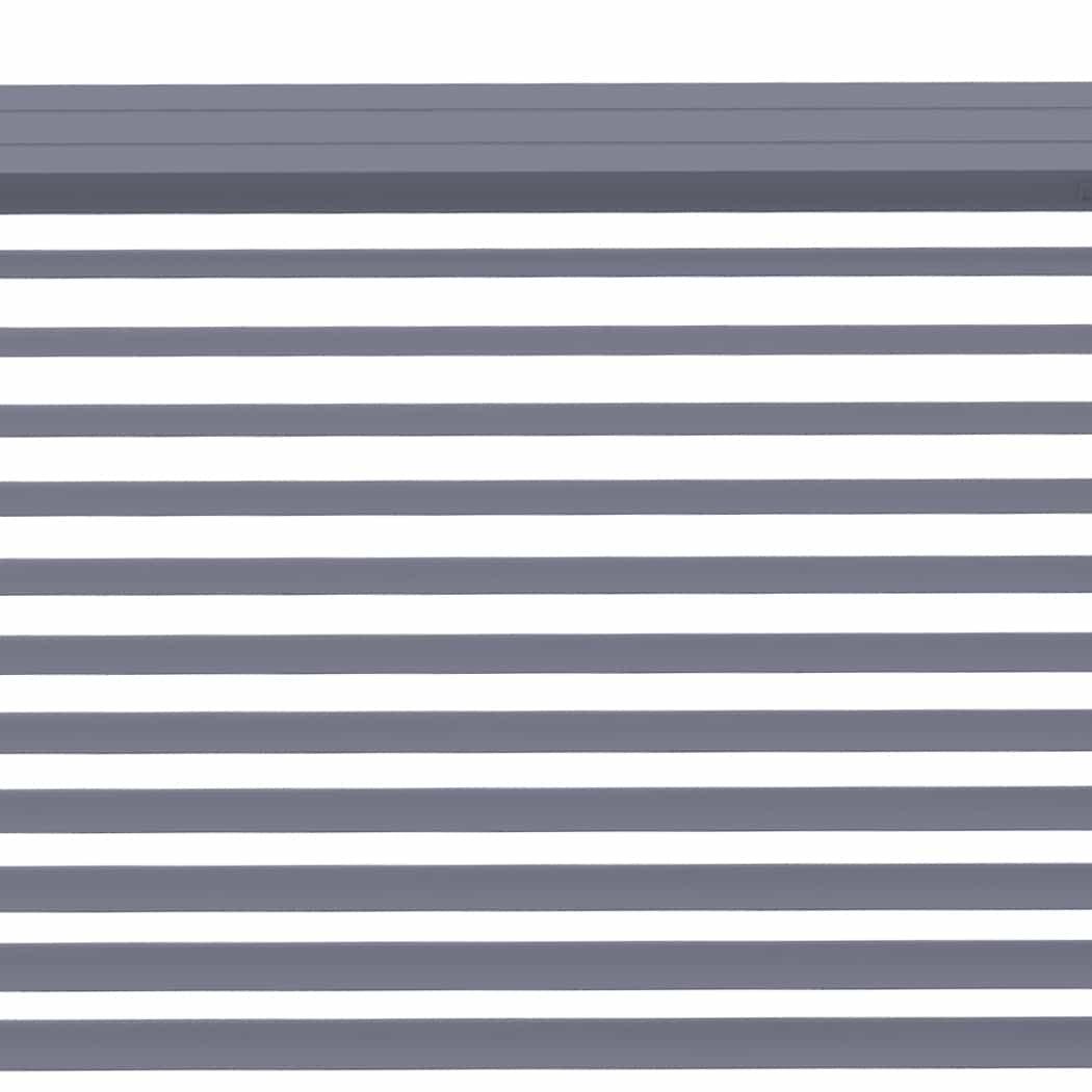 4goodz Vochtbestendige PVC Jaloezie EASY 25 mm 150x180 cm - Grijs
