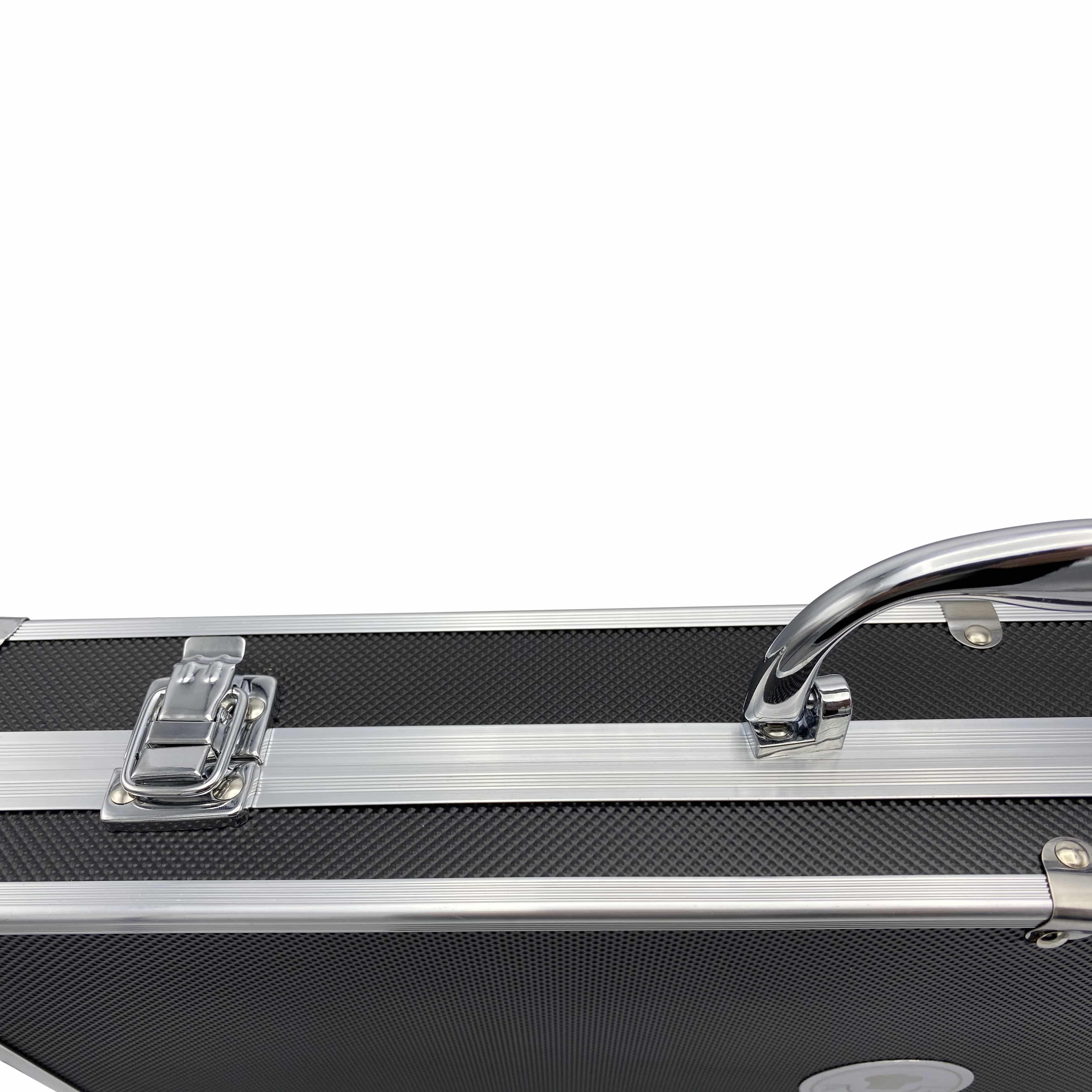 4cookz® BBQ Luxe RVS softgrip gereedschapsset - 6 delige koffer