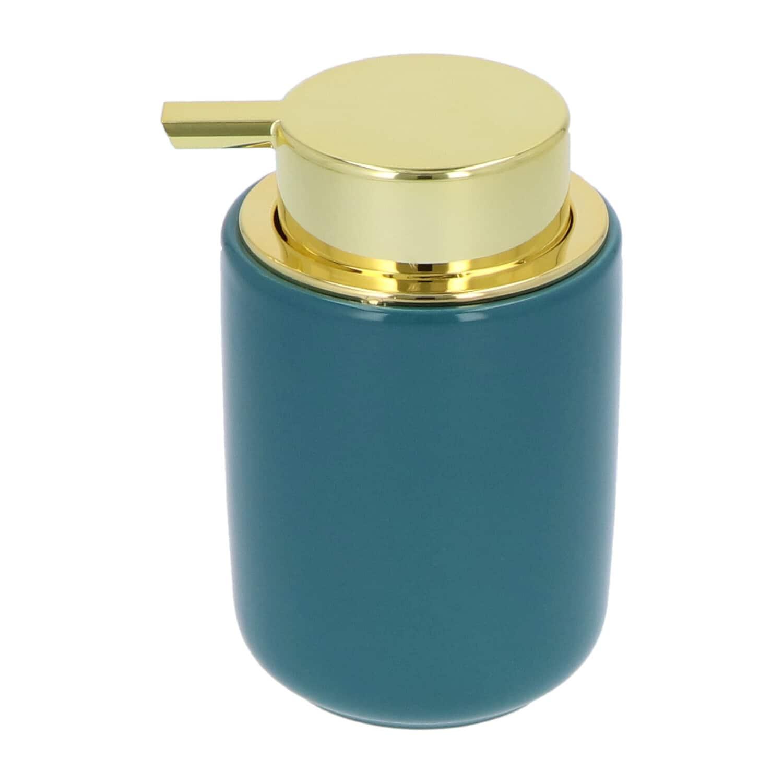 4goodz Keramiek Zeeppompje 300 ml - glanzend Petrolblauw