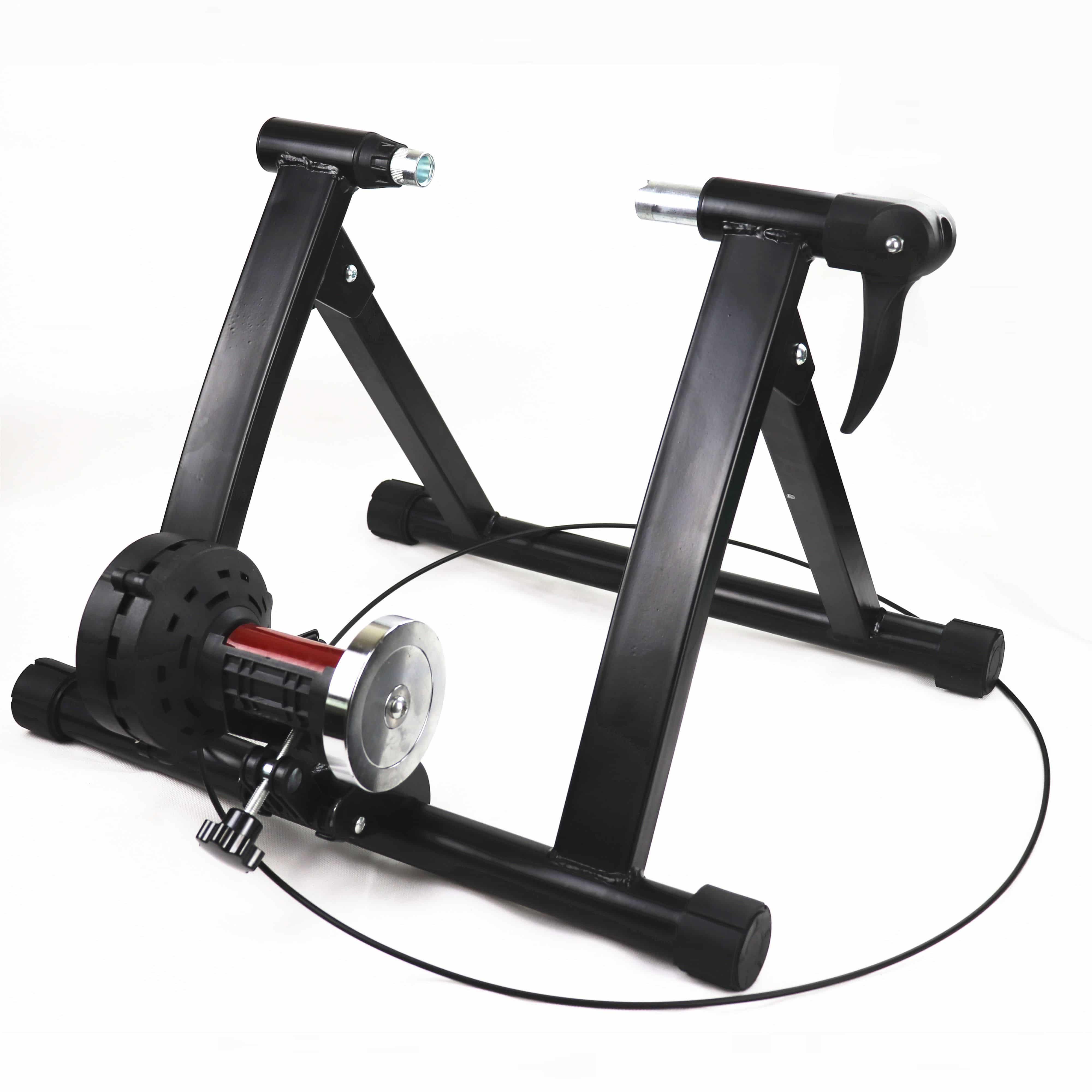 4bikez fietstrainer met magnetische verstelbare weerstand - rollenbank