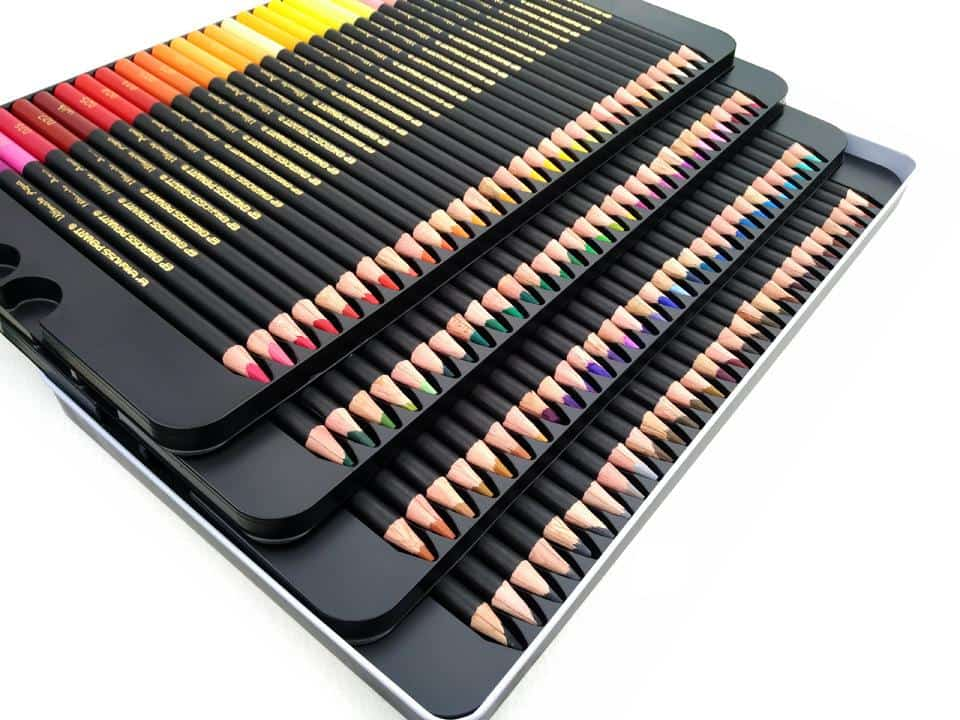 4artz® Ultimate Aqua aquarelpotloden 120 stuks - kleurpotloden
