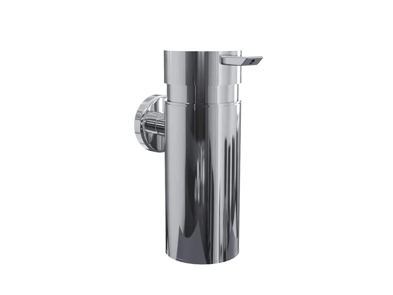 4bathroomz® Oslo zeepdispenser wandmontage - Zeeppompje chroom
