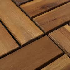 4gardenz Acacia Hardhouten Terrastegels koppelbaar 30X30CM - 9 stuks