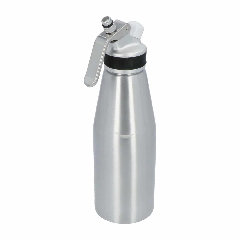4cookz® aluminium slagroomspuit 1,0 liter - kidde/sifon - espuma