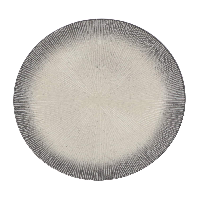 4goodz Porseleinen Diner Borden Atelier 6 stuks 27,5 cm - Grijs