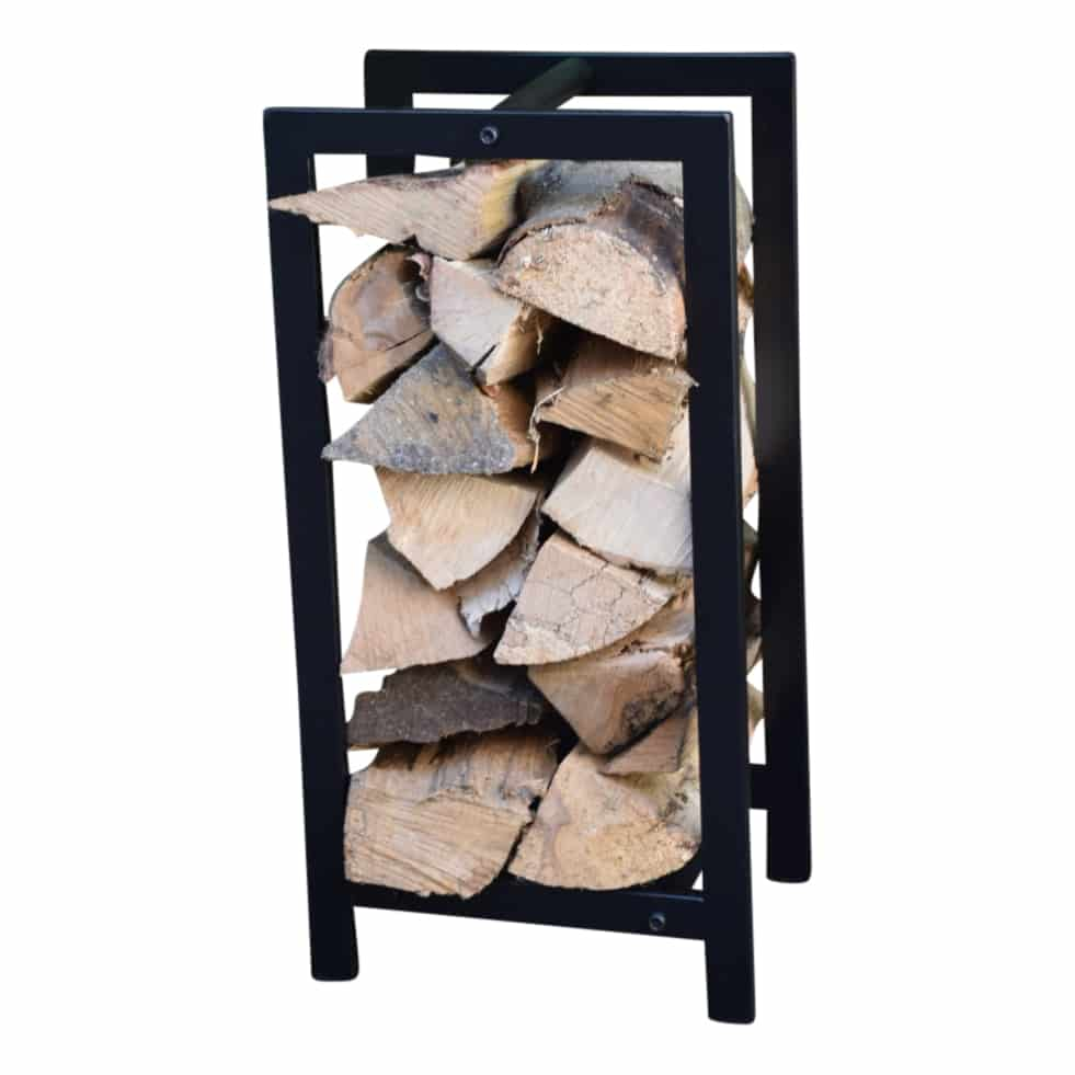 4livingz Uddevalla Open Haard Houtrek - opslag haard hout - 30x22x59cm