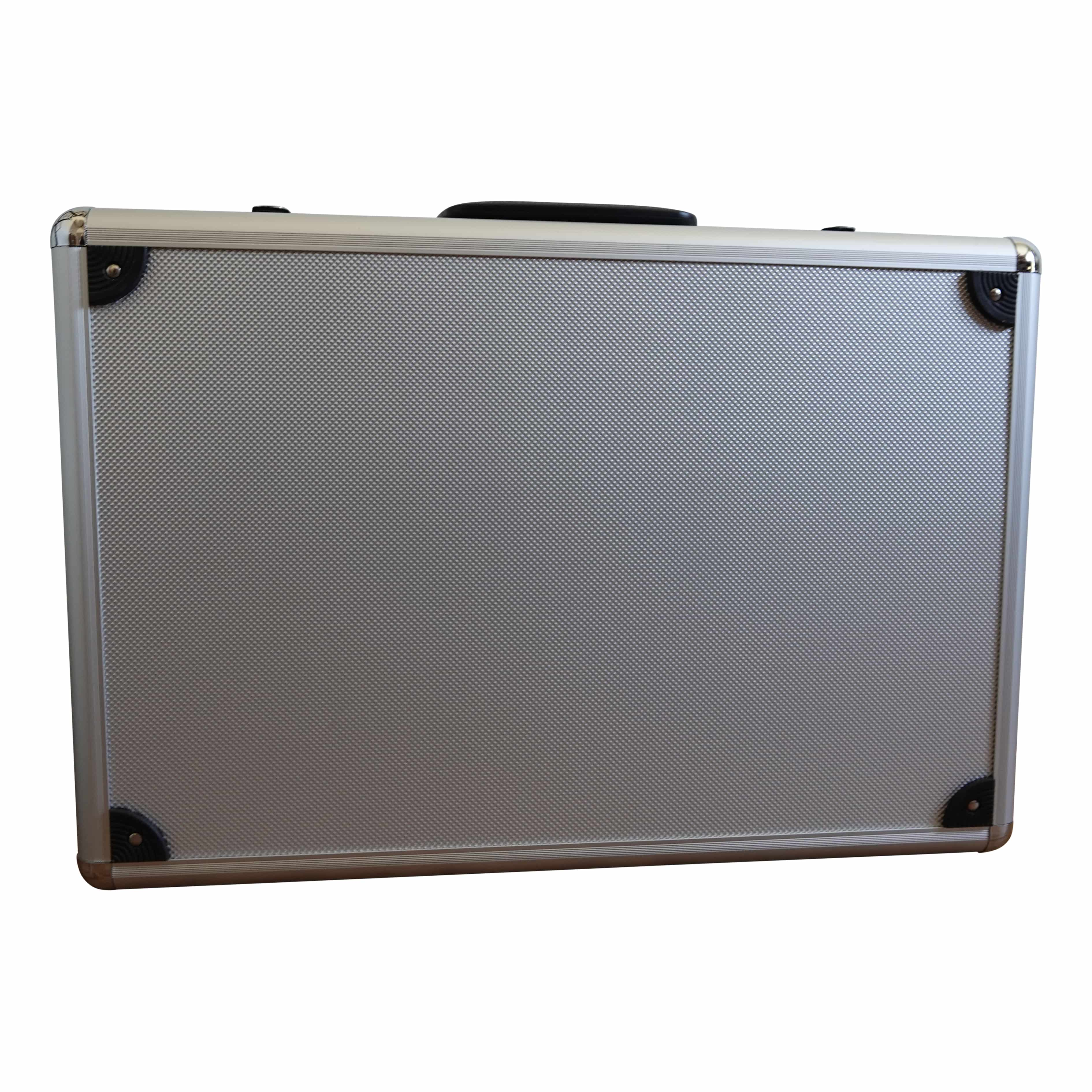 4offiz New Jersey Black Opvouwbaar folderrek in koffer - zwart