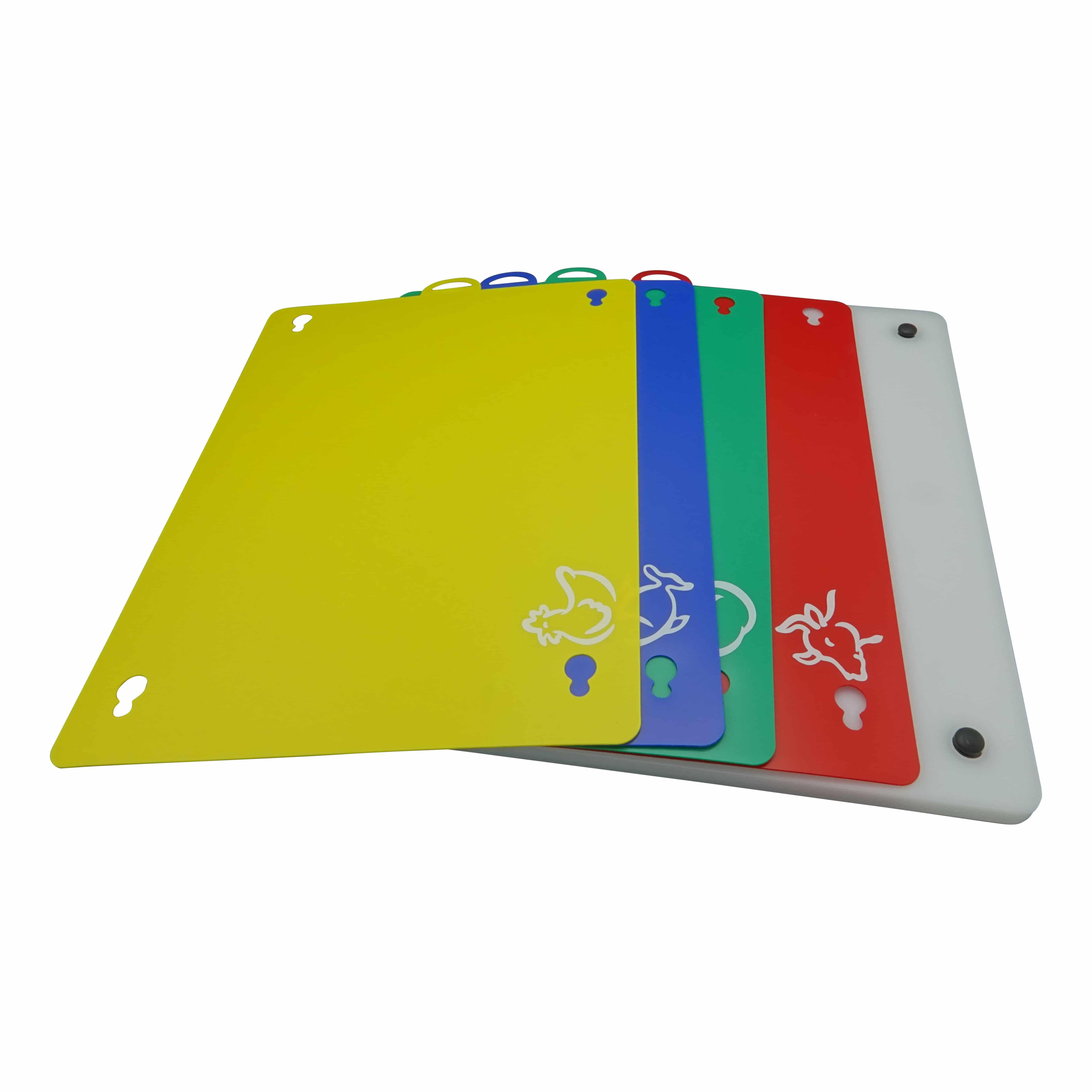 4cookz® Snijplank Professional set met 4 Verwisselbare Snijplaten