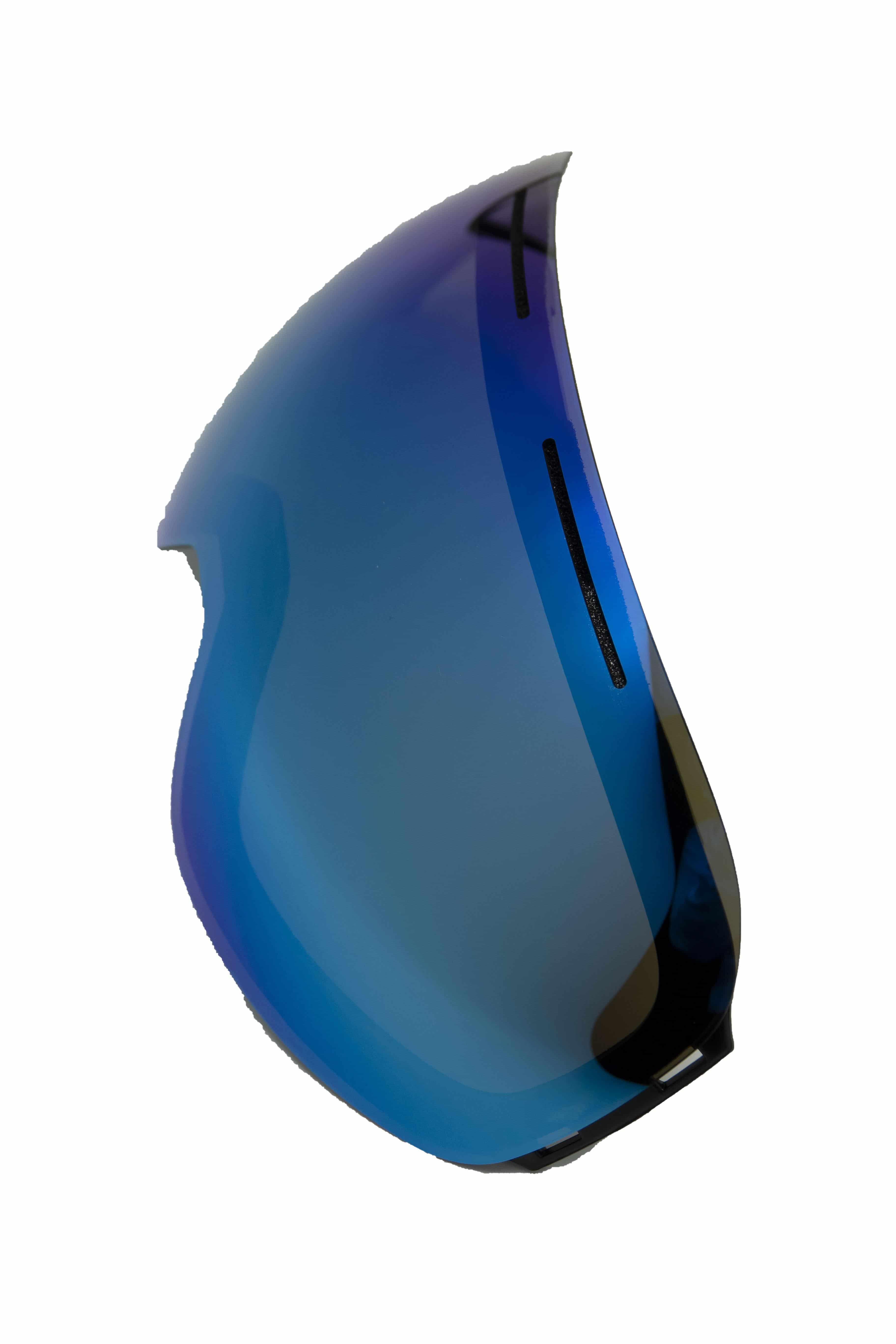 5one® Alpine 7 extra losse lens Revo Ice Blue - blauw spiegelglas