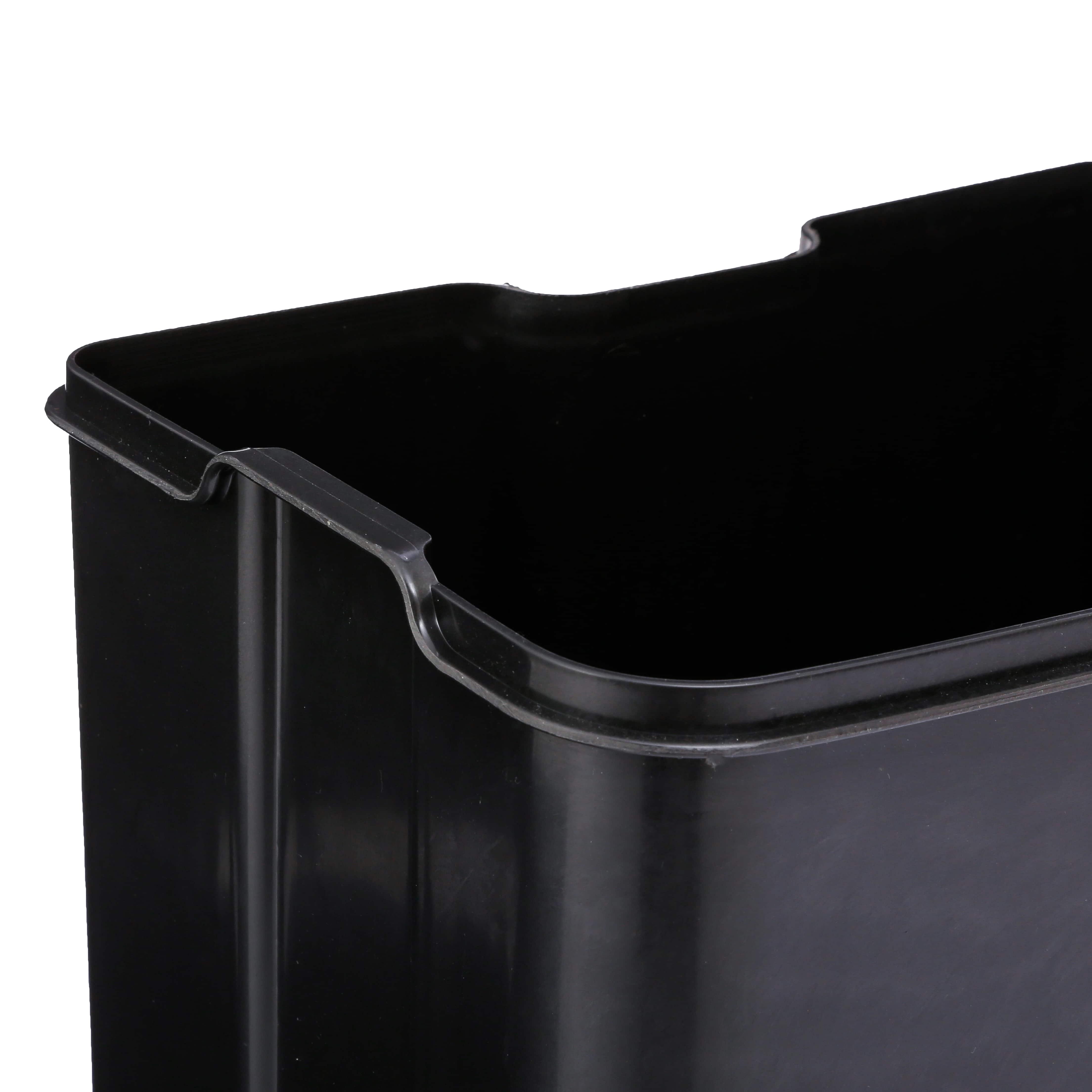 4goodz pedaalemmer 30 liter met uitneembare emmer 34x32x61cm - Rood