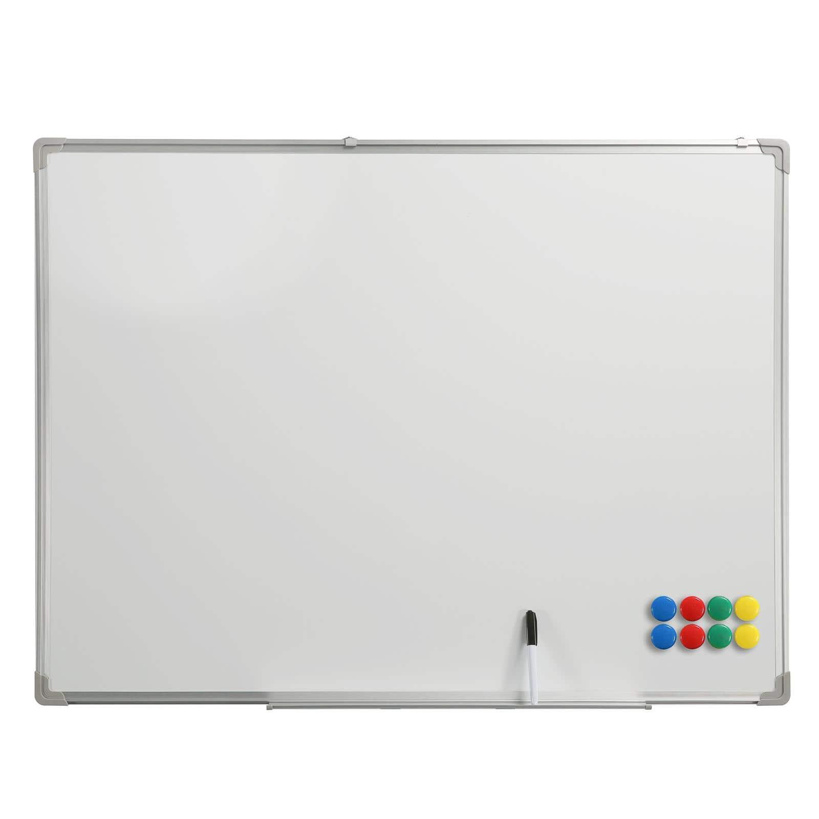 BüroMi Magnetisch Whiteboard 2.0 - 110x80cm - incl. stift en magneten