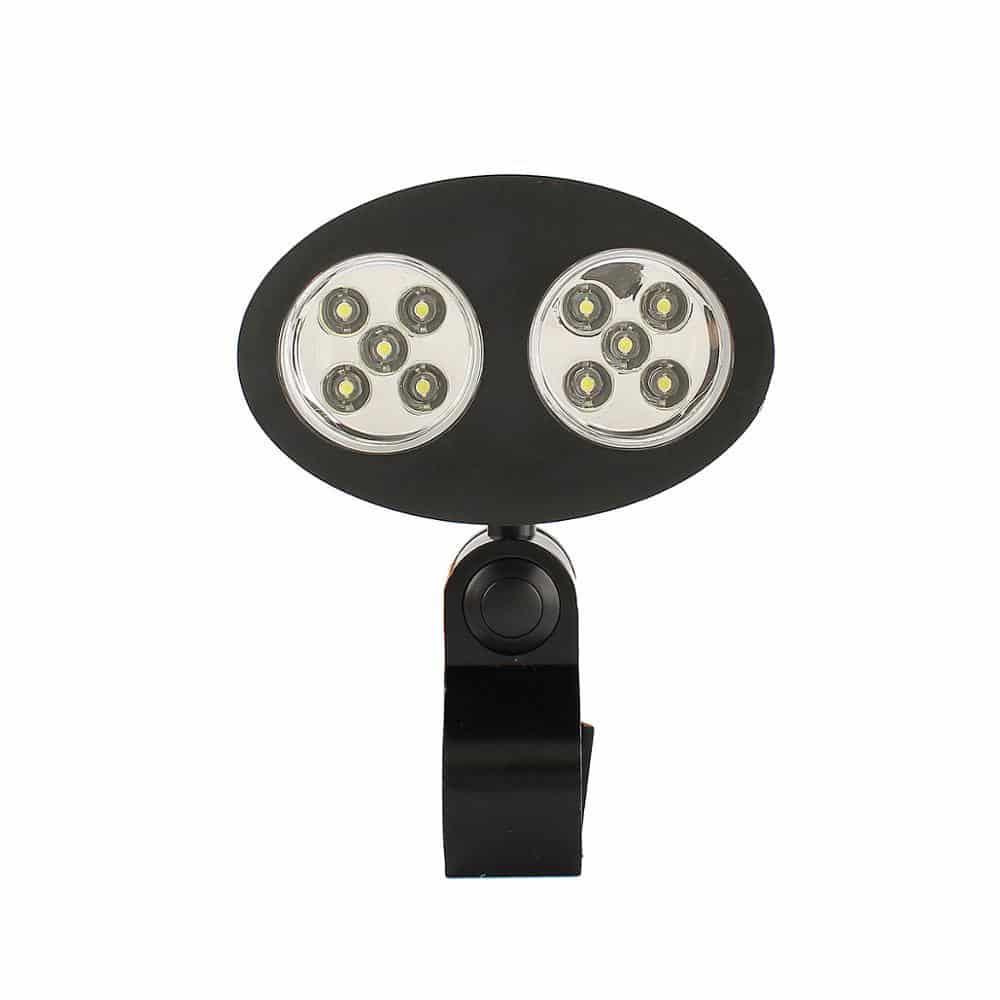 4cookz® BBQ LED lamp met klem - voor BBQ's zonder staal zoals Kamado