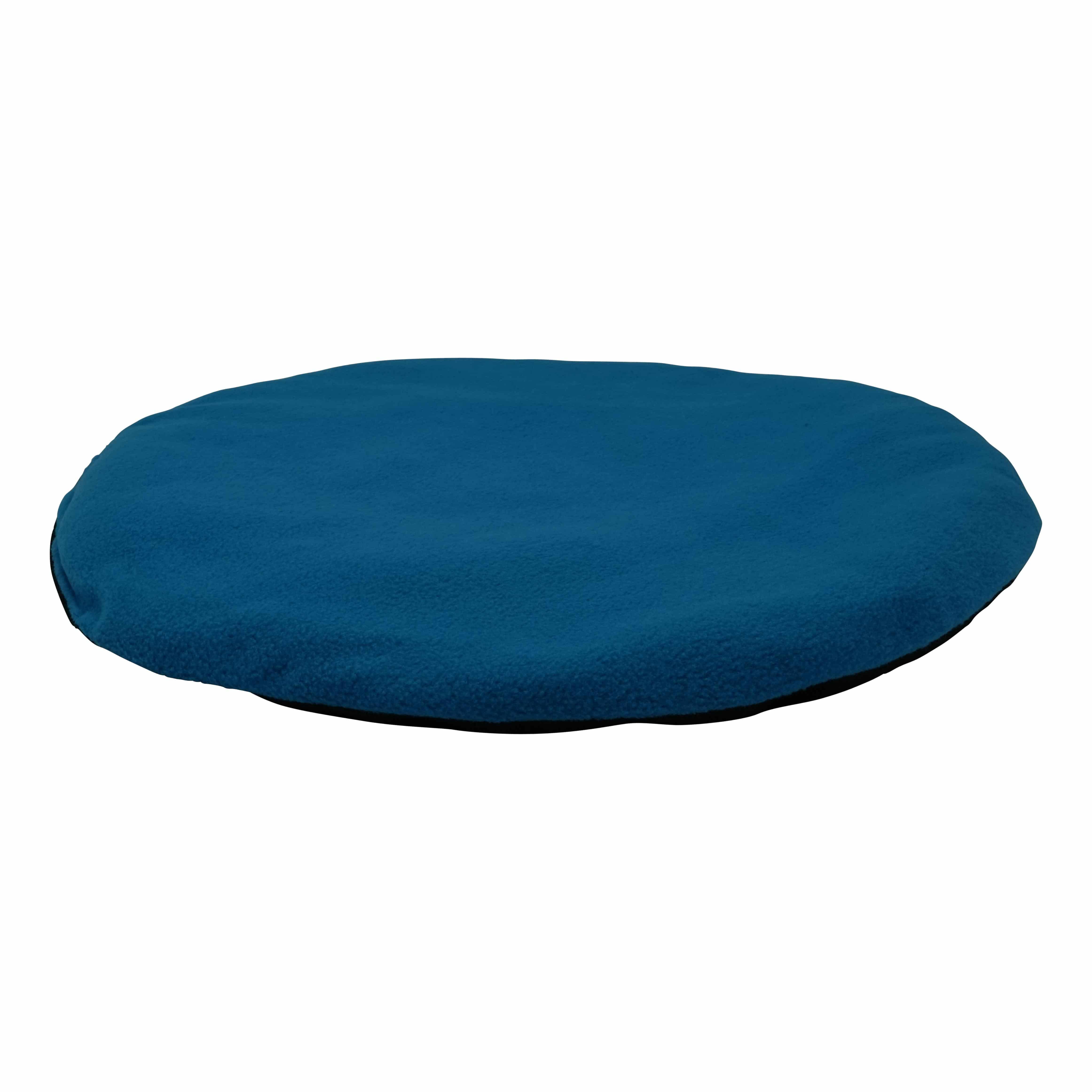 4animalz grote vilten kattenmand in Creme - 52x45x33cm - blauw/beige