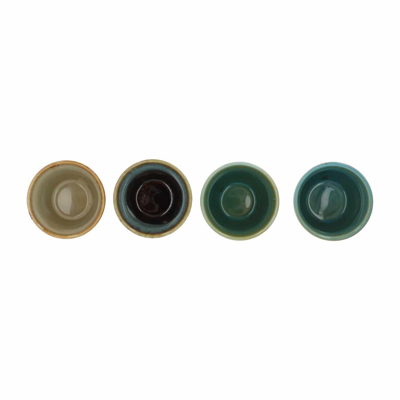 4Goodz Porseleinen Espresso kopjes 9 cl - set a 4 stuks