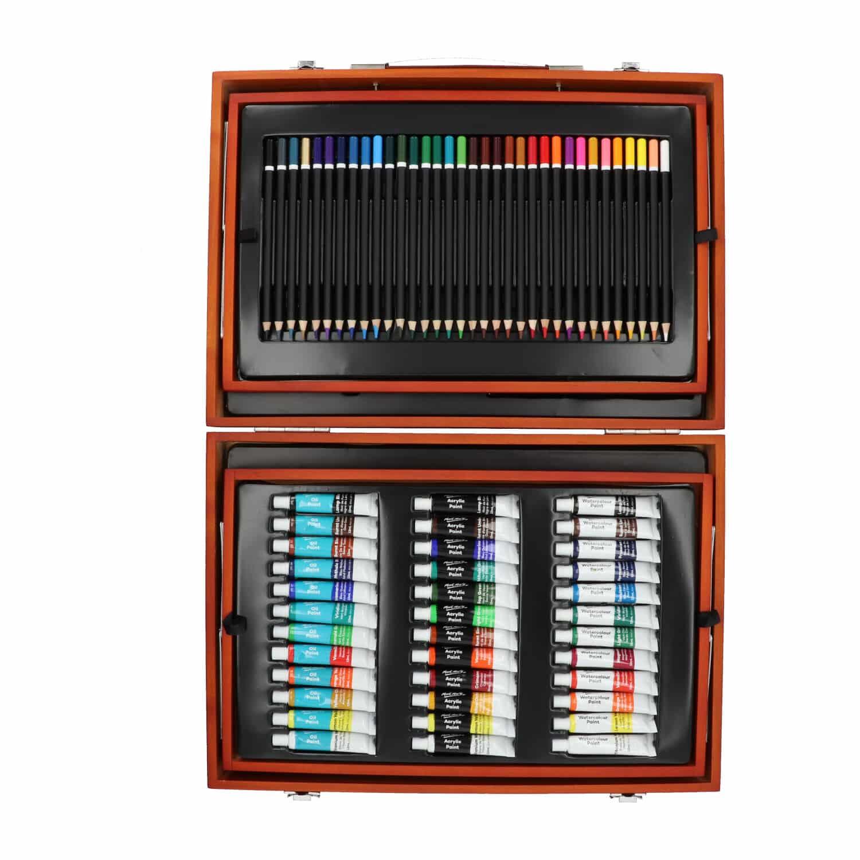 Mont Marte® mix artist XL set 174 delig - complete schilder en tekenset