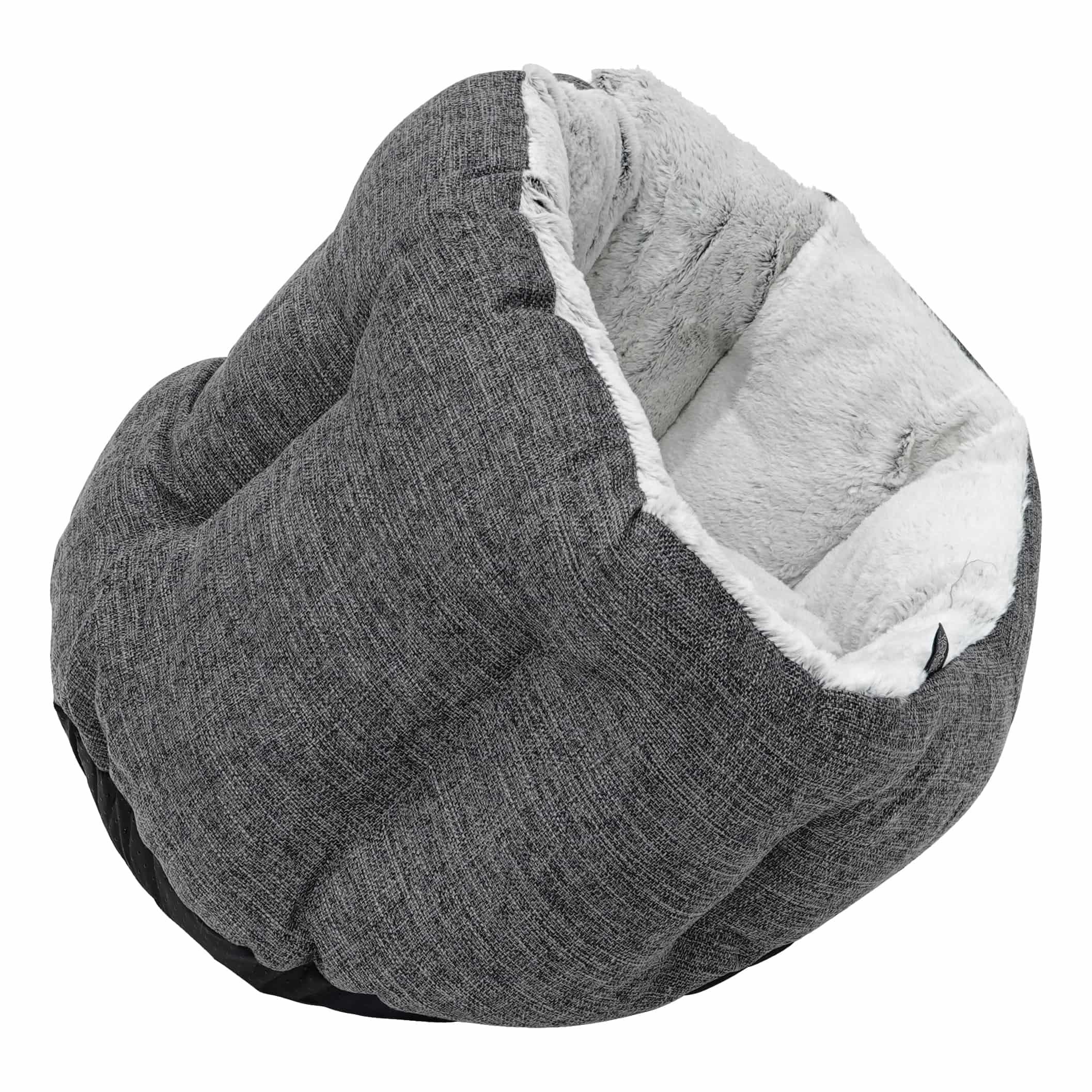 4Goodz Zachte Hondenmand Cocoon - 50x38 cm - Donkergrijs