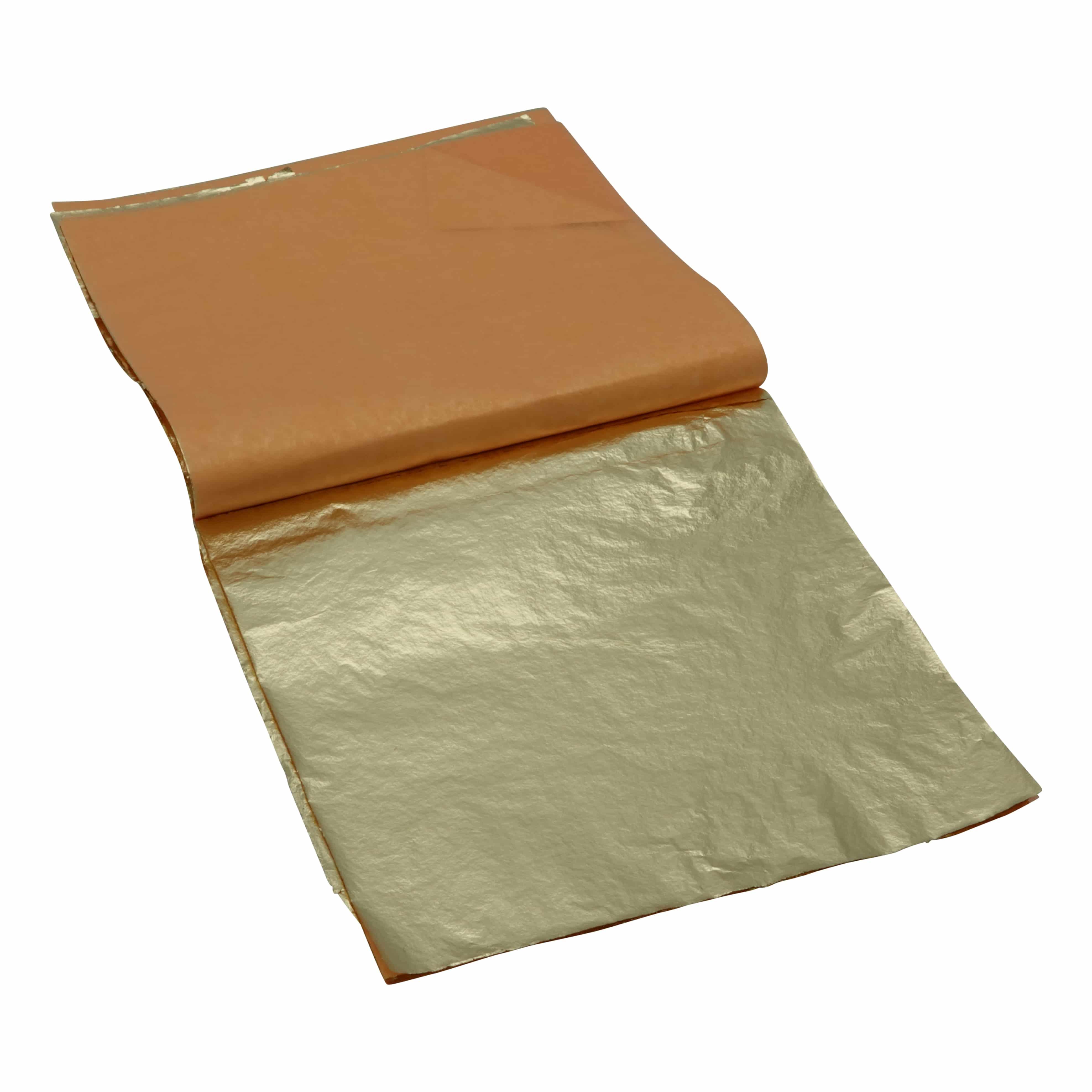 Mont Marte® 25 vellen imitatie goud papier 14x14cm - decoupage papier