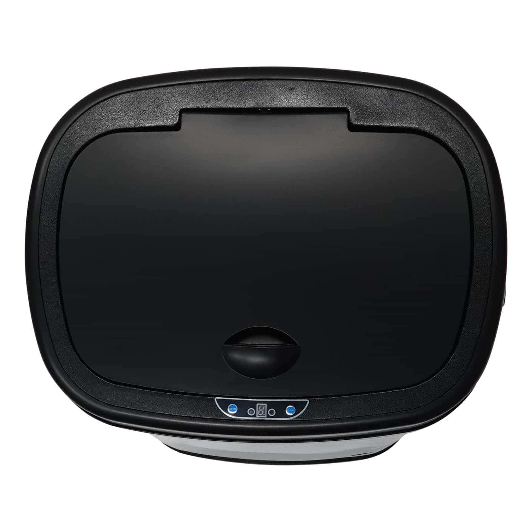 4cookz® Clever Square RVS sensor prullenbak - 58 liter - 40x29x68cm
