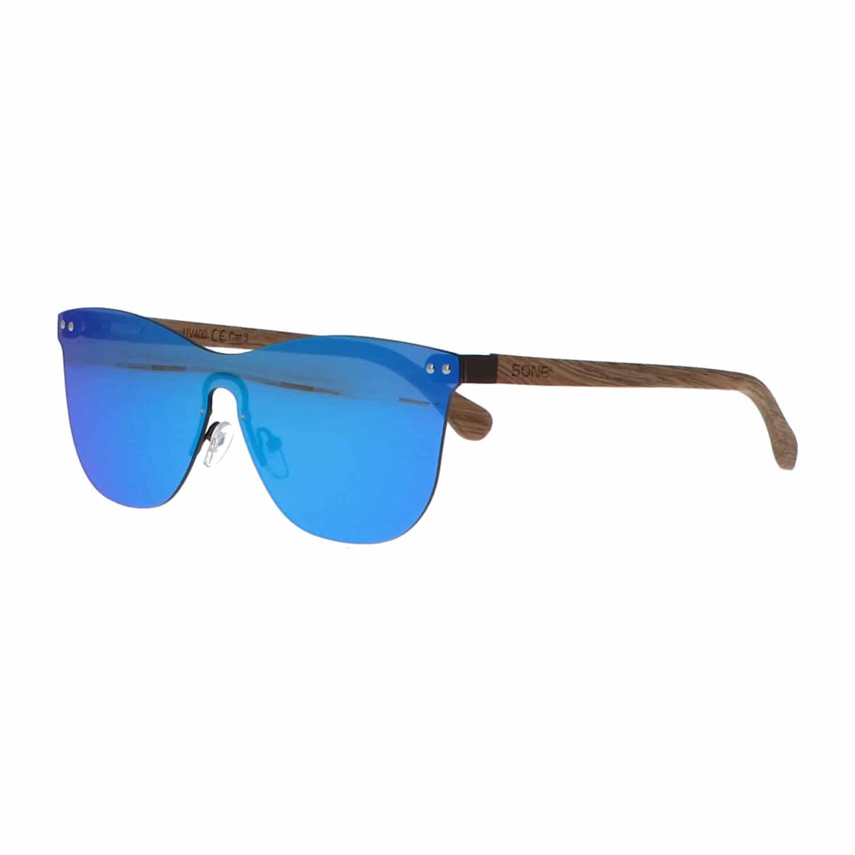 5one® Cyprus Wayfarer Flat Blue - wayfarer flat zonnebril