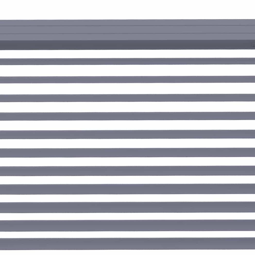 4Goodz Vochtbestendige PVC Jaloezie EASY 25 mm 50x180 cm - Grijs