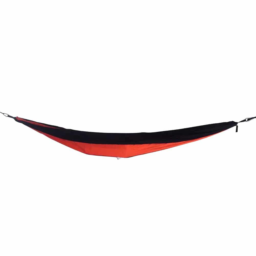 4gardenz Nylon Hangmat Rood 270x150 cm met ophangset - max. 200 kg
