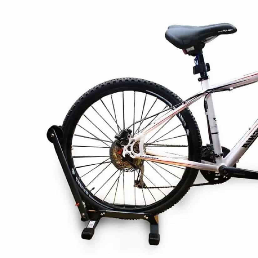 4bikez® Universele vrijstaande fietsstandaard - zwart