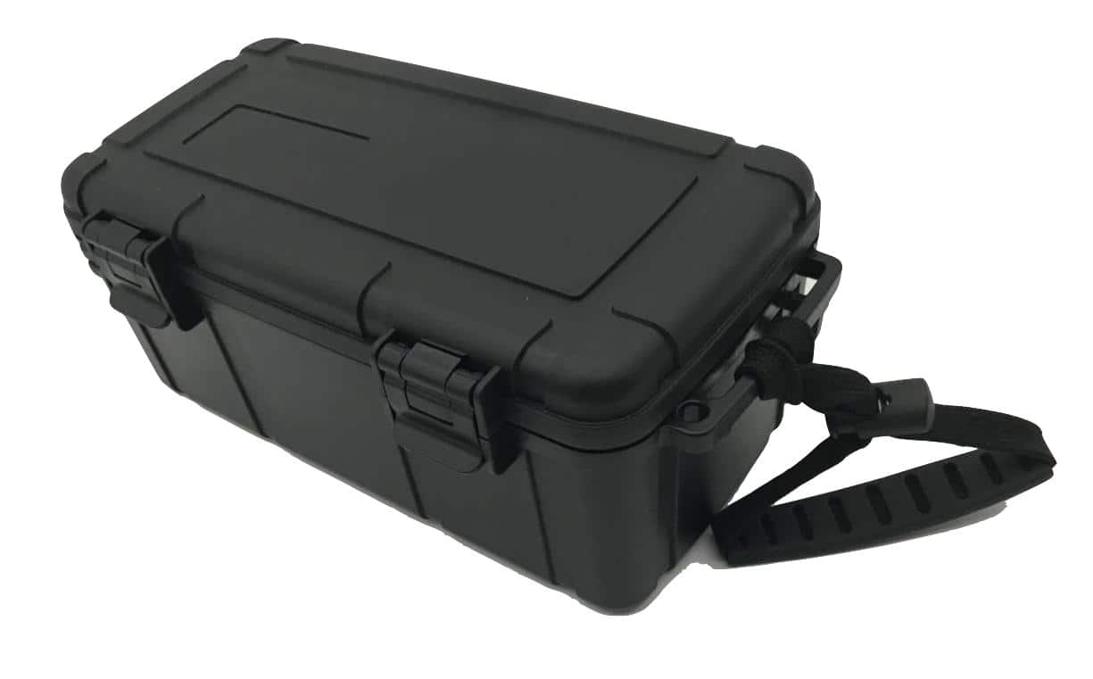 Sigaren reis humidor 22.35X13.16X10.62CM - geschikt voor 15 stuks