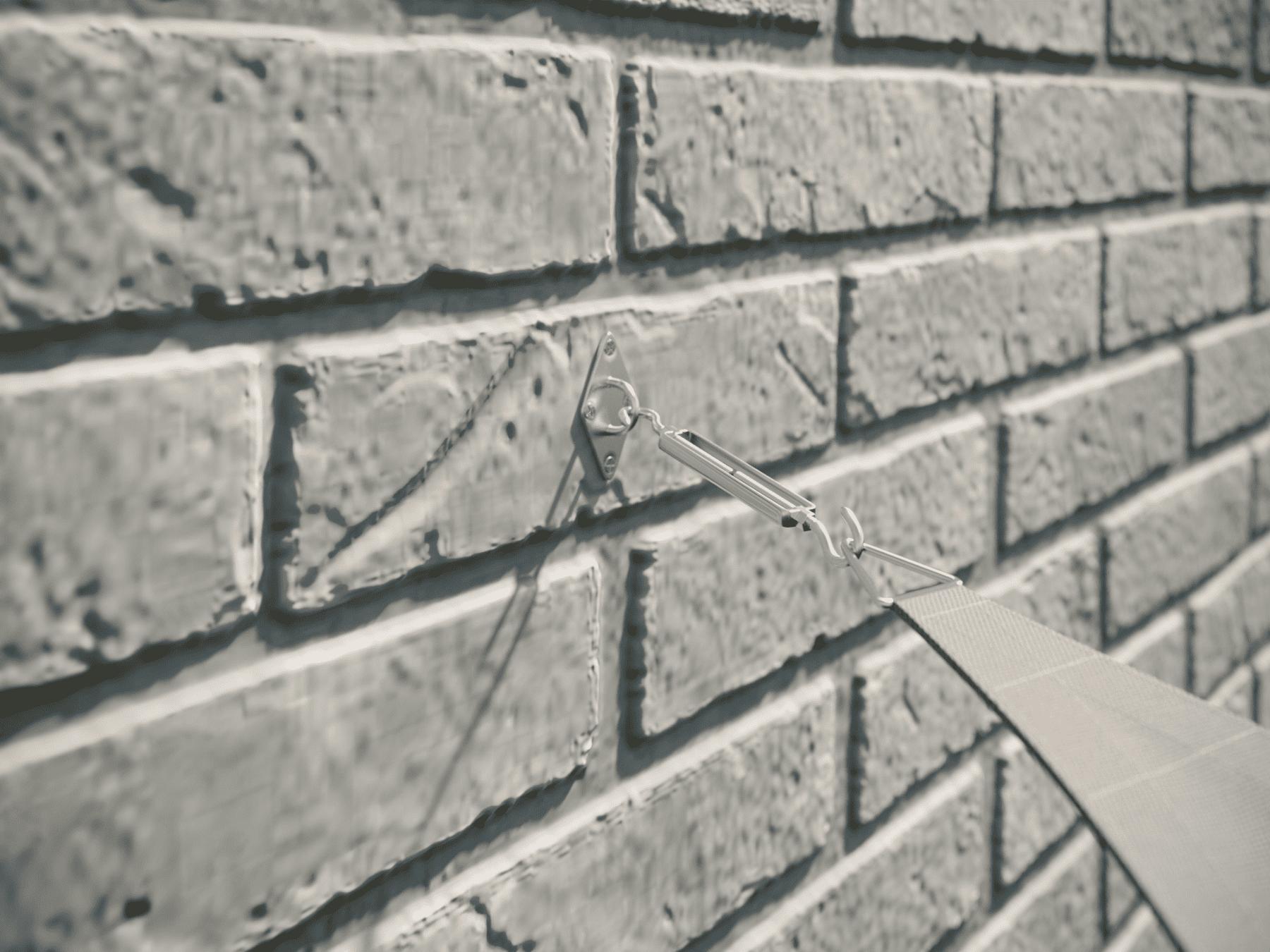 hanSe® Schaduwdoek Rechthoek Waterdoorlatend 2,5x5 m - zonnedoek Grijs