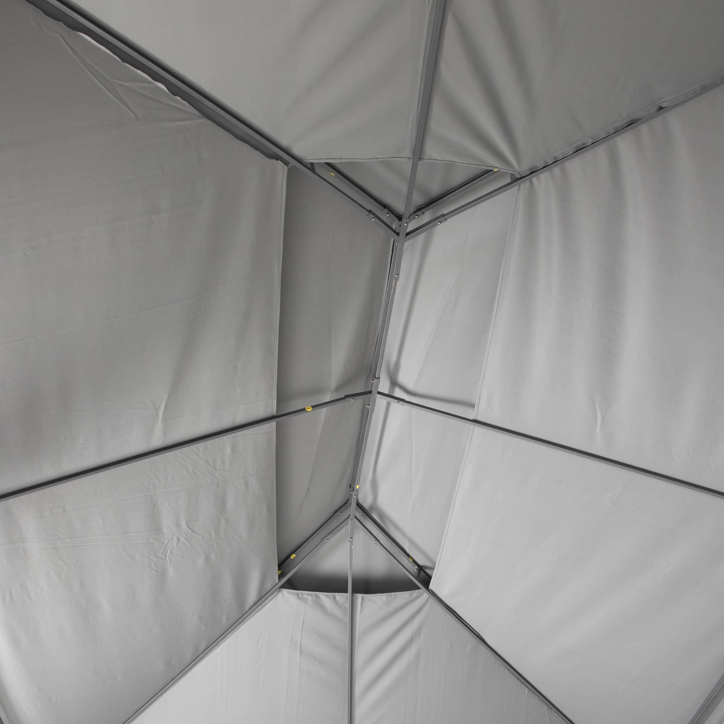 4goodz Gazebo 3x4 mtr - Partytent Paviljoen met zijwanden - Antraciet