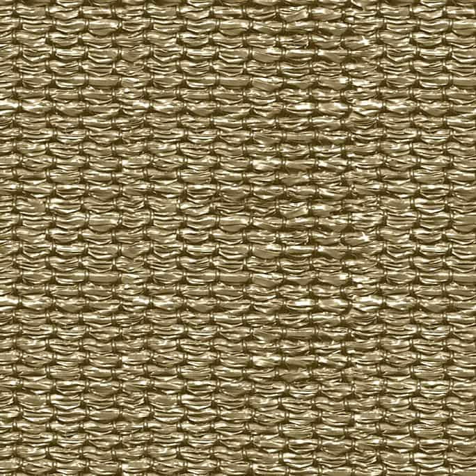 hanSe® Schaduwdoek Rechthoek Waterdoorlatend 4x5 m - zonnedoek - Zand