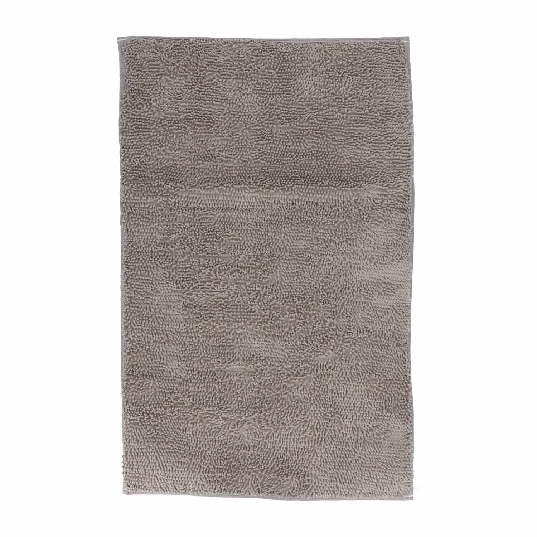 4goodz Zachte Douchemat polyester 45x75cm - grijs