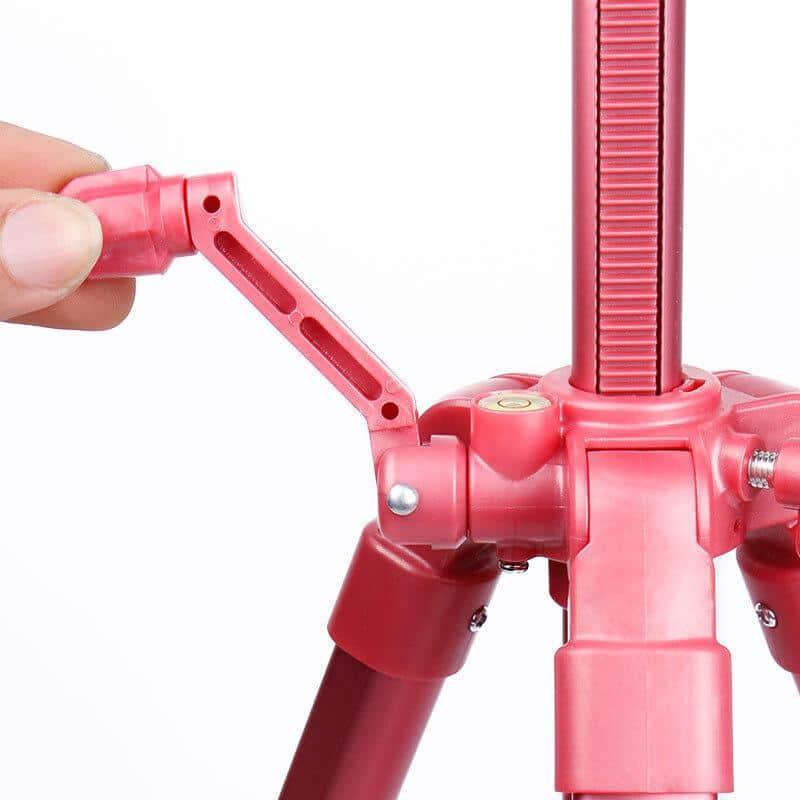 4artz® Lichtgewicht Schildersezel - roze - 153cm hoog - verstelbaar