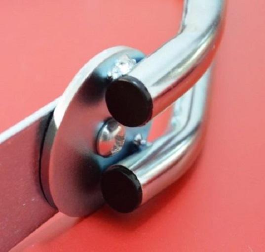 4toolz wandbeugel fiets 180 graden draaibaar - Zilverkleurig