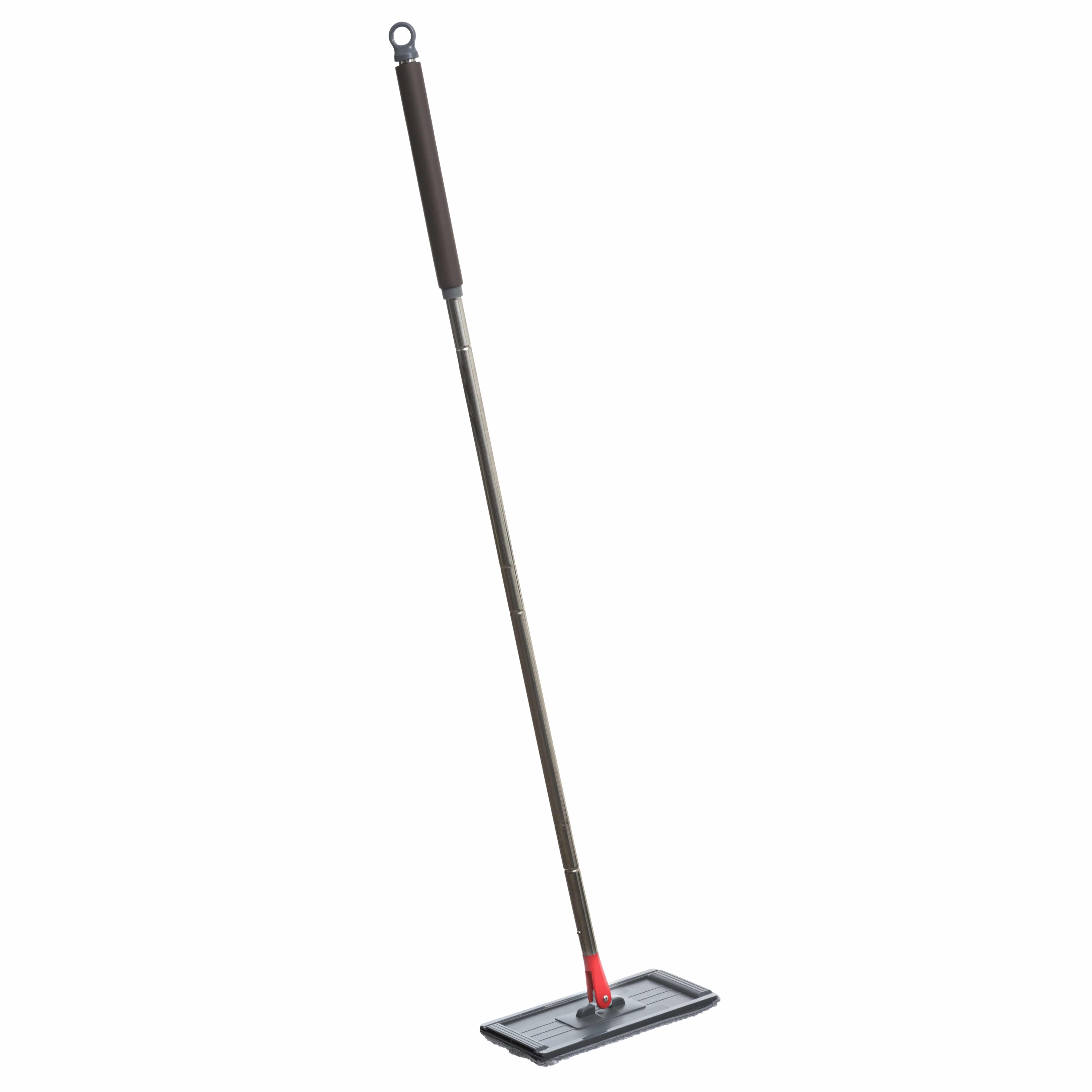 4goodz Dweilsysteem Flat Mop 2.0 Lena 130cm lange steel emmer 7 ltr
