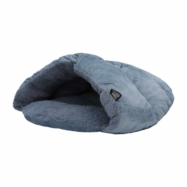 4goodz Zachte en Warme Snuggle Kattenmand Small - 45x42 cm - grijs