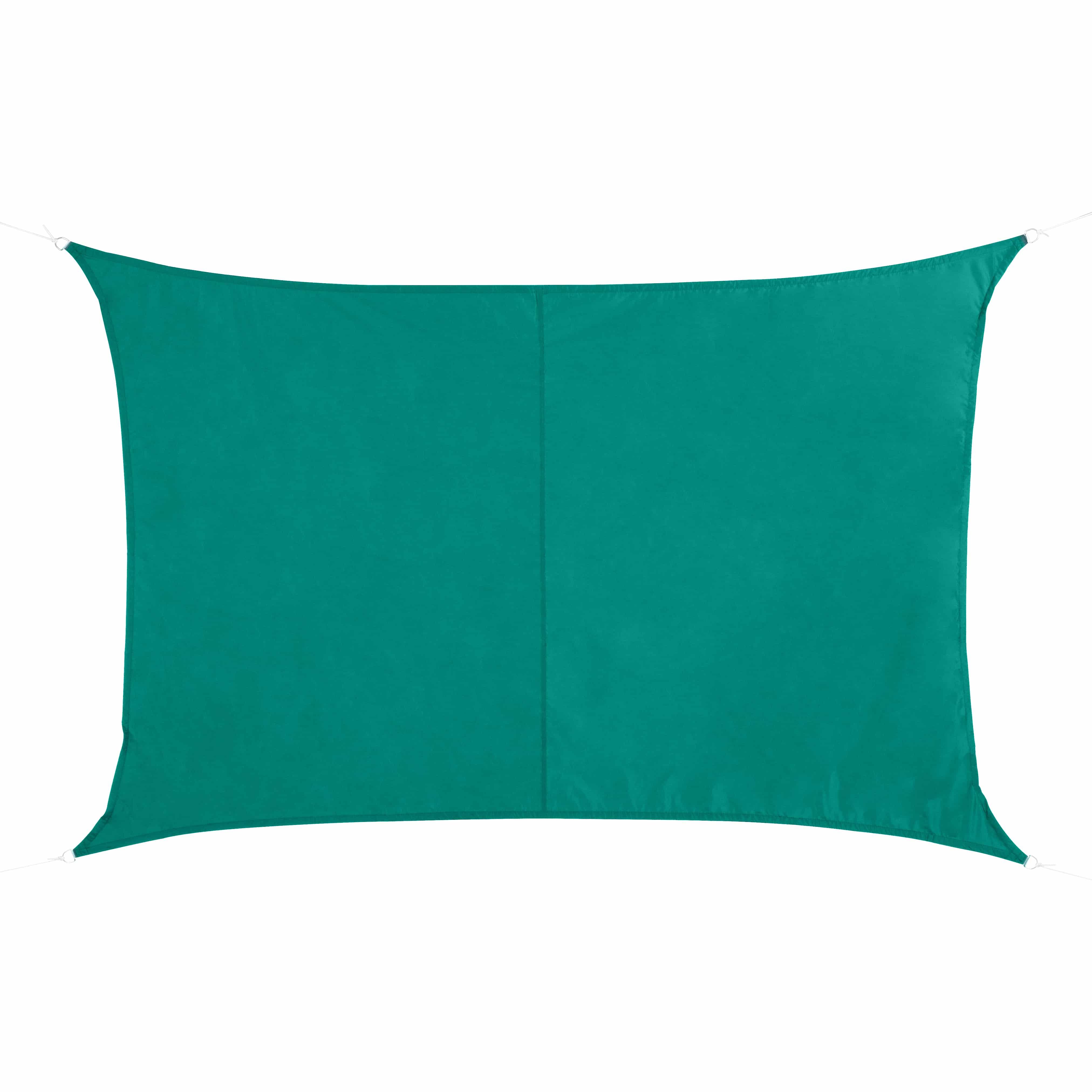 4goodz Schaduwdoek Rechthoek Waterdicht 2x3 m - Emerald Groen