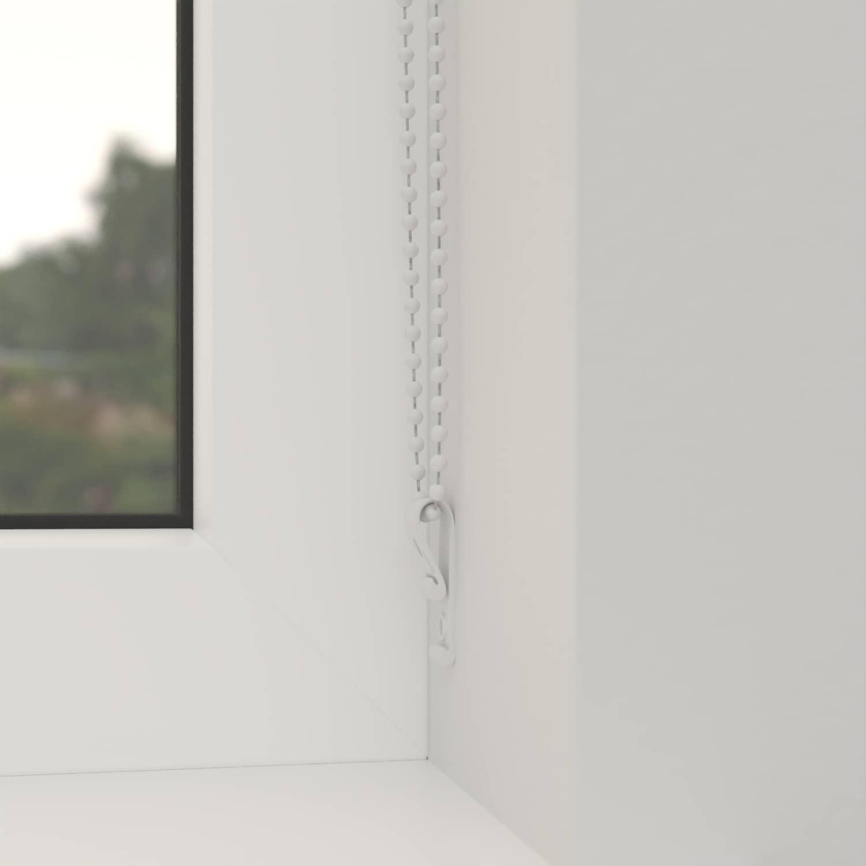 4Goodz Duo Rolgordijn Easy Lichtdoorlatend 75x180 cm - Wit