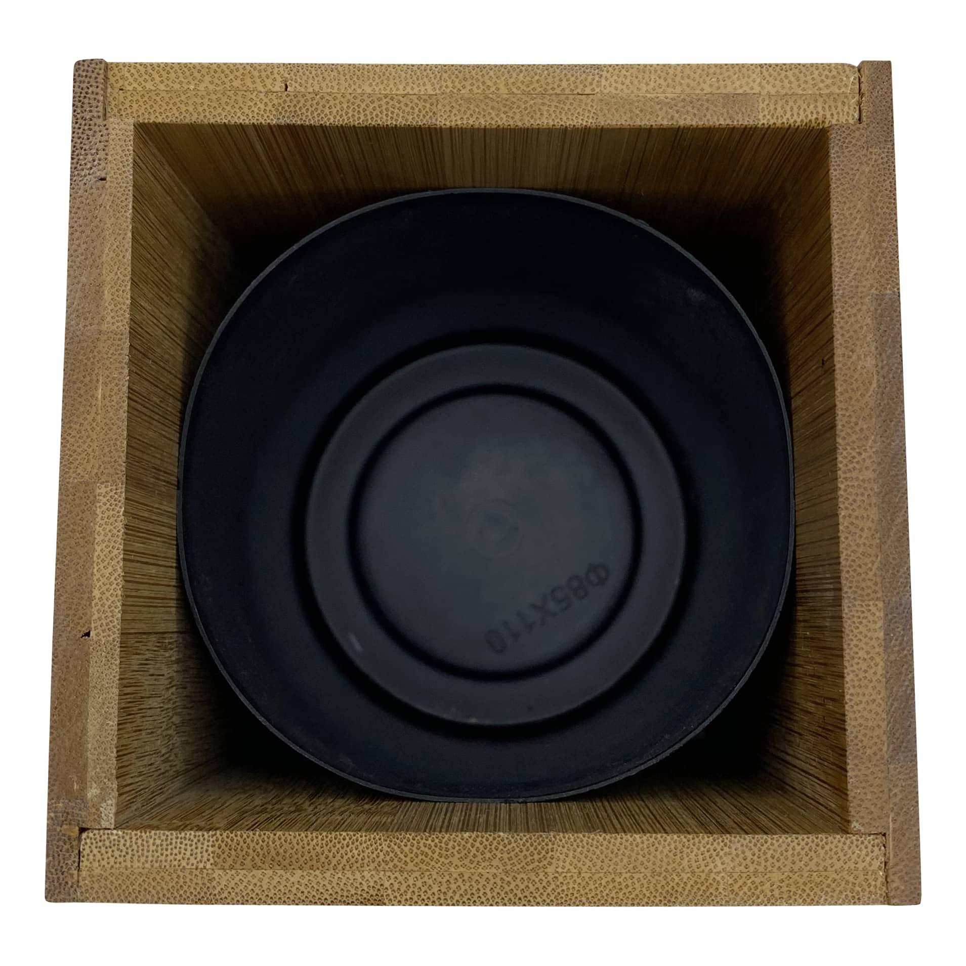 4Goodz Bamboo Toiletborstel van Bamboe met metalen borstel - 10x36 cm