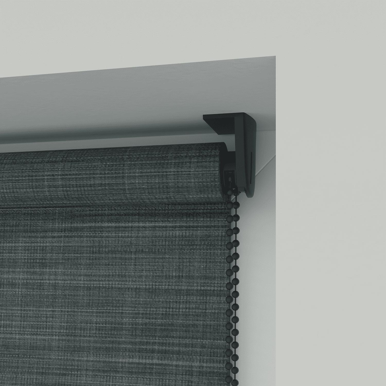 4Goodz Rolgordijn Lichtdoorlatend Aluminium buis 150x180 cm - Antraciet