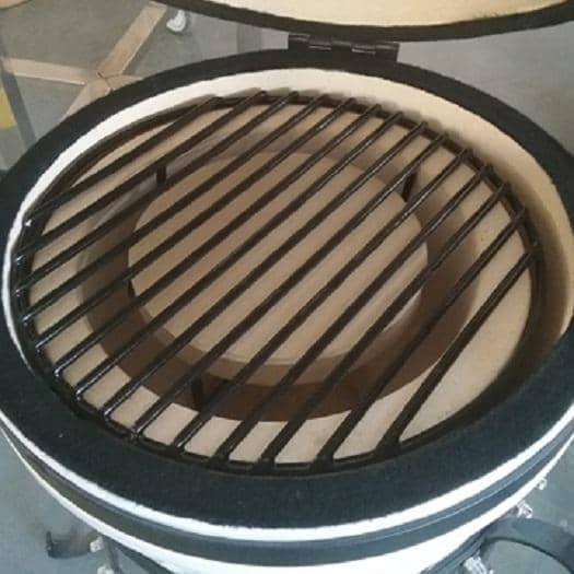 """4cookz® Heat Deflector Keramisch Universeel voor Kamado BBQ 13"""""""